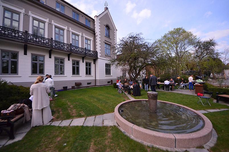 Oslo International House garden